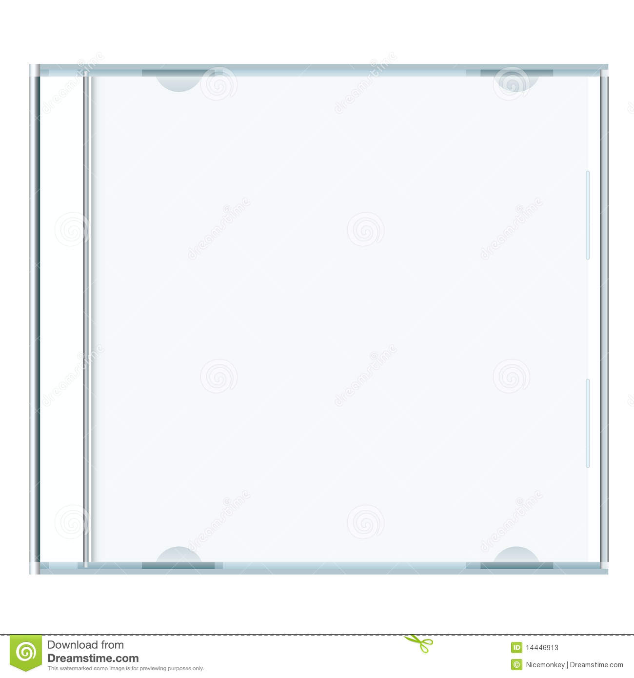 Cd cover clipart. Stock illustrations vectors blank