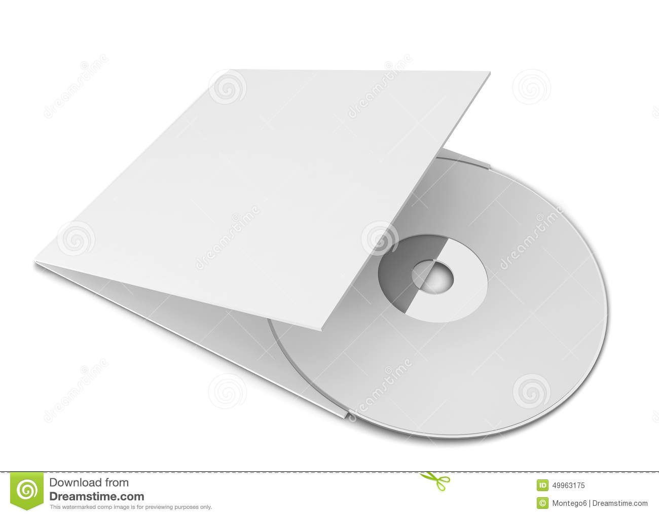 Cd cover clipart picture freeuse library Blank Cd Cover Stock Illustration - Image: 50253304 picture freeuse library