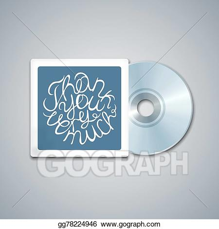 Cd mockup clipart clip art library download Vector Art - Mixed cd cover. mockup template with lettering element ... clip art library download