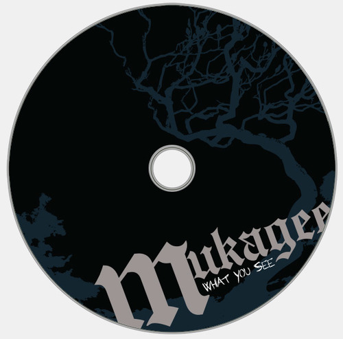 Cd disk artwork. Psoma design group album