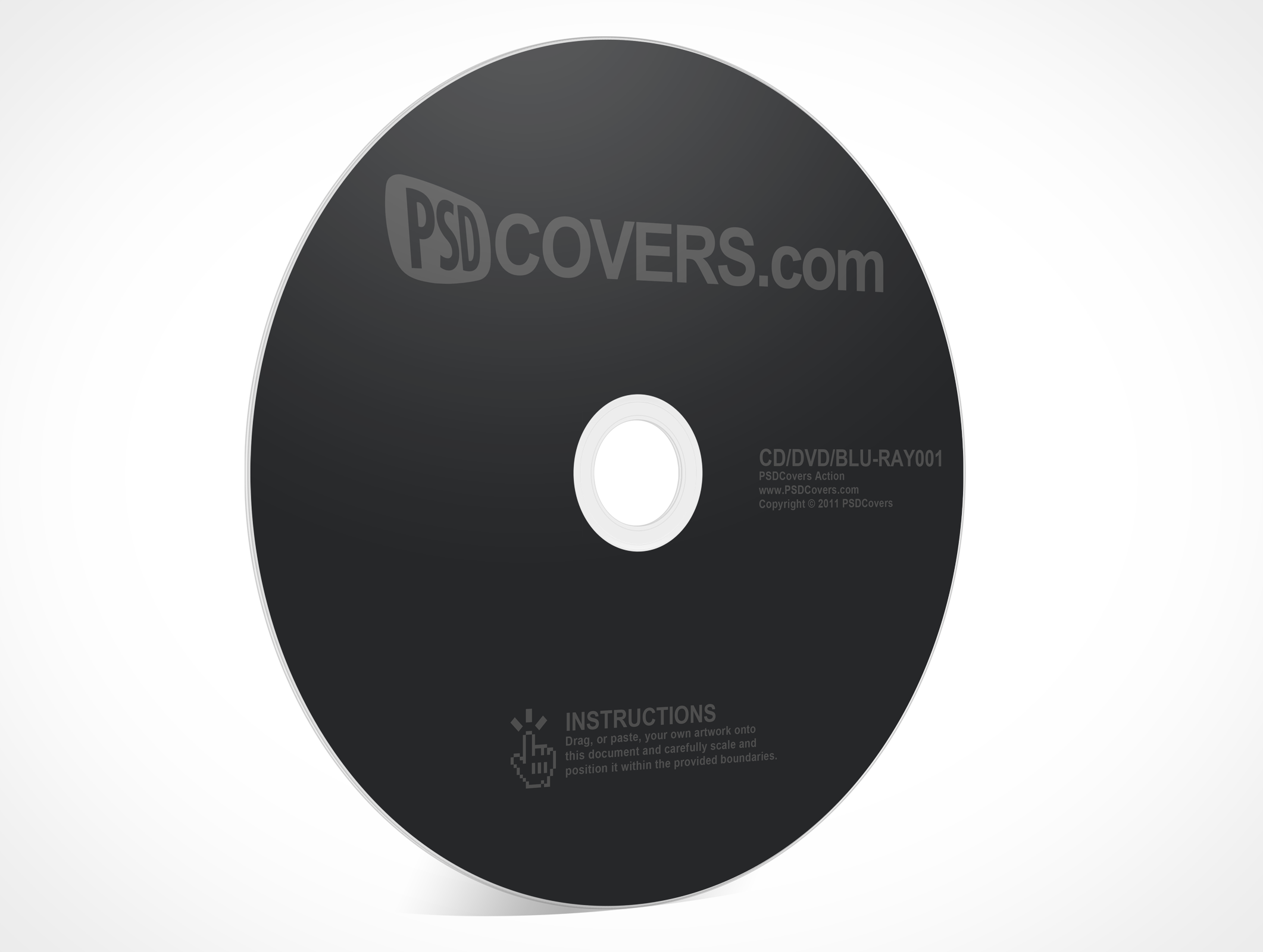 Psdcovers page of photoshop. Cd disk artwork