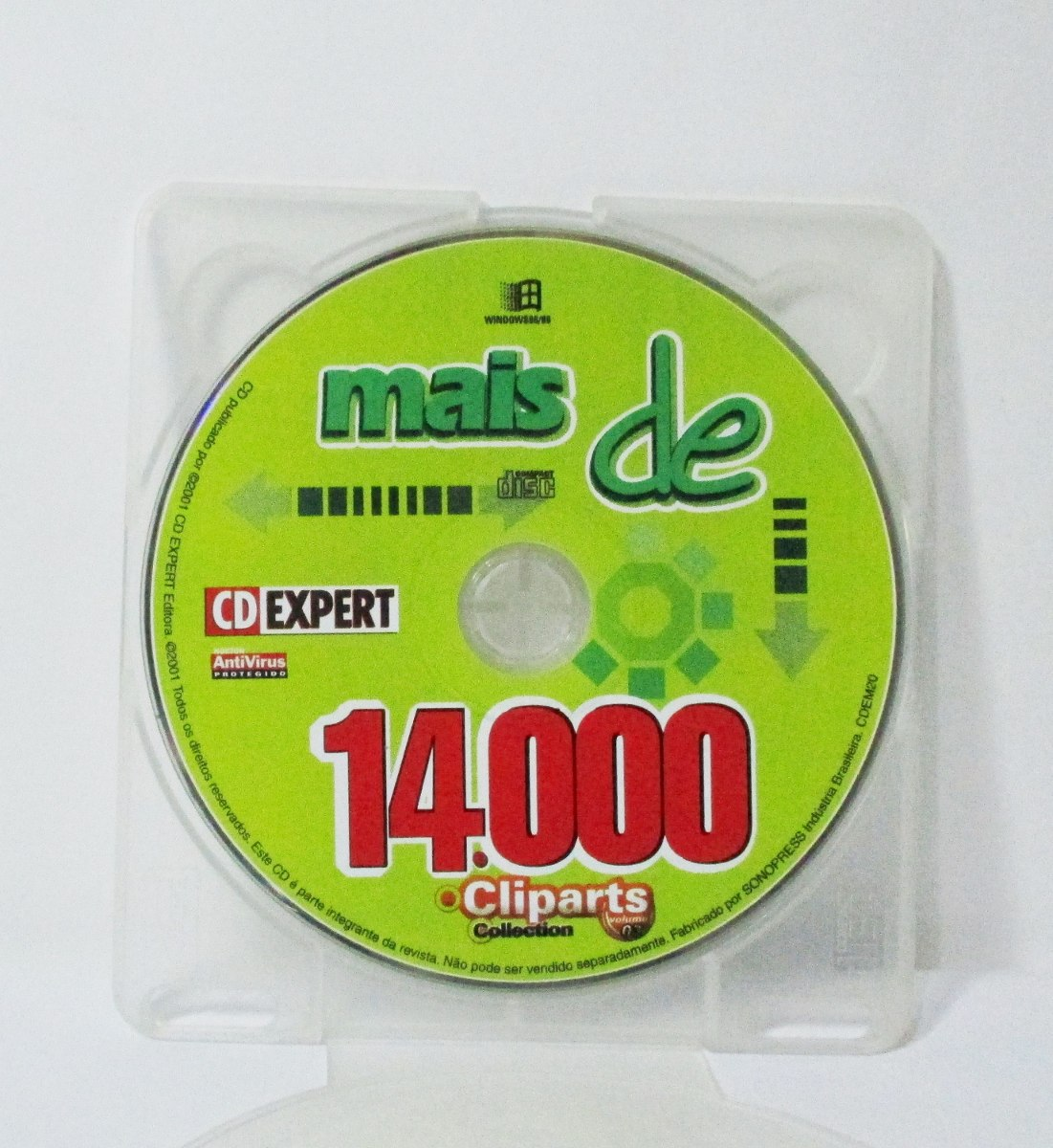 Cd expert cliparts clip library download Cd Expert - Mais De 14.000 Cliparts Collection + Livreto clip library download