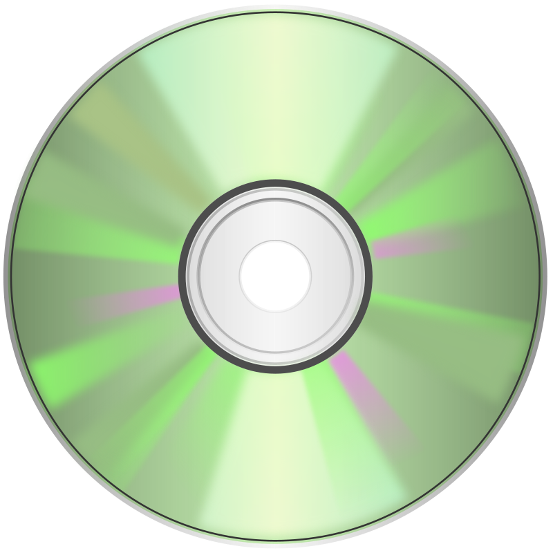Free clipart cd svg stock Free Clipart: CD-DVD, Compact disc | Keistutis svg stock