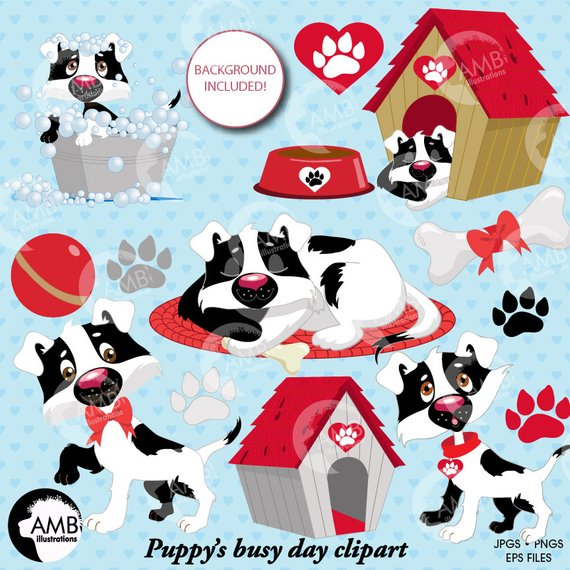 C-dog clipart svg black and white Puppy dog clipart, dog clip art, puppy clip art, animal clipart, Dog ... svg black and white