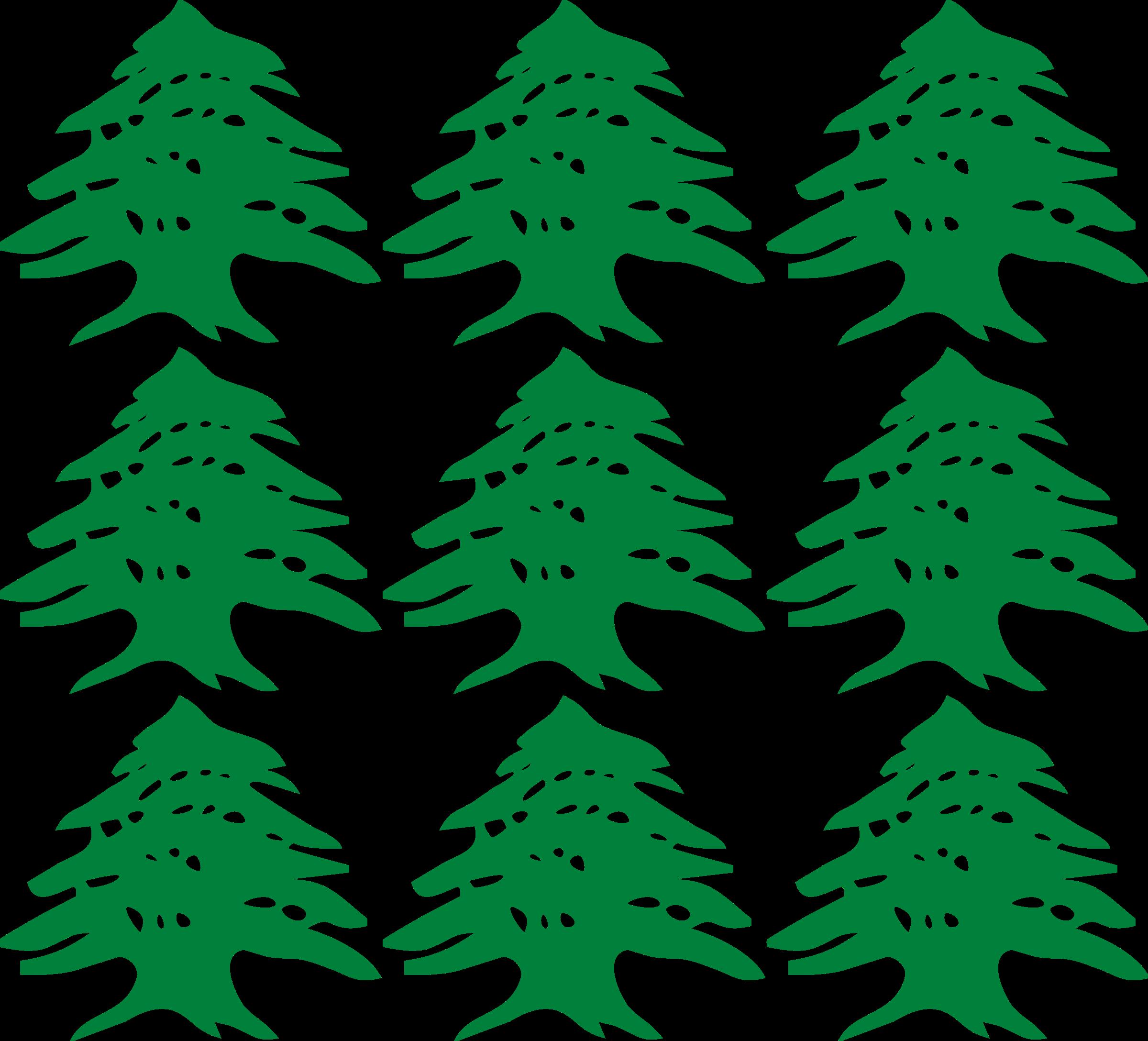 Cedar tree clipart banner black and white download Clipart - cedar tiles banner black and white download