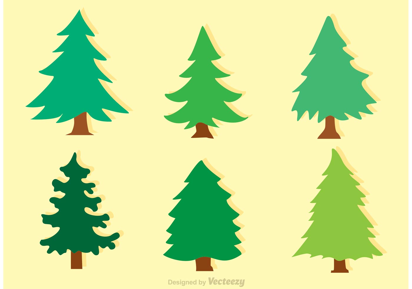Cedar tree silhouette clipart jpg royalty free stock Cedar Tree Icon Free Vector Art - (31 Free Downloads) jpg royalty free stock