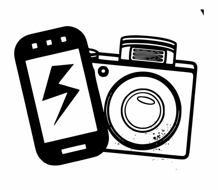 Cel phone camera clipart