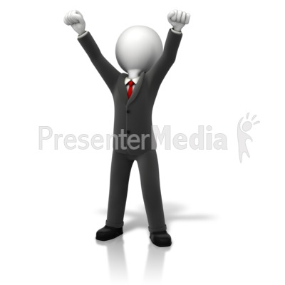 Business Celebration Arms Up - Business and Finance - Great Clipart ... image freeuse stock