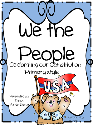Celebrating constitution day clipart svg transparent First Grade Wow: Constitution Day we will read the book we the kids ... svg transparent