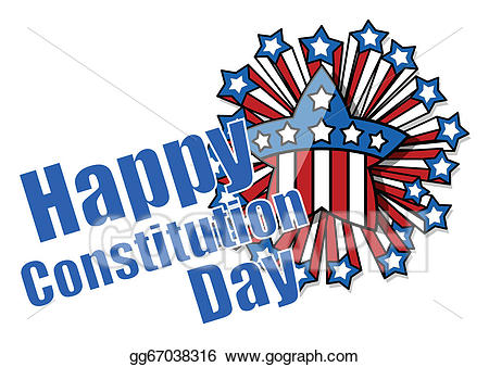 Celebrating constitution day clipart clip library stock Vector Art - Celebration - constitution day. EPS clipart gg67038316 ... clip library stock