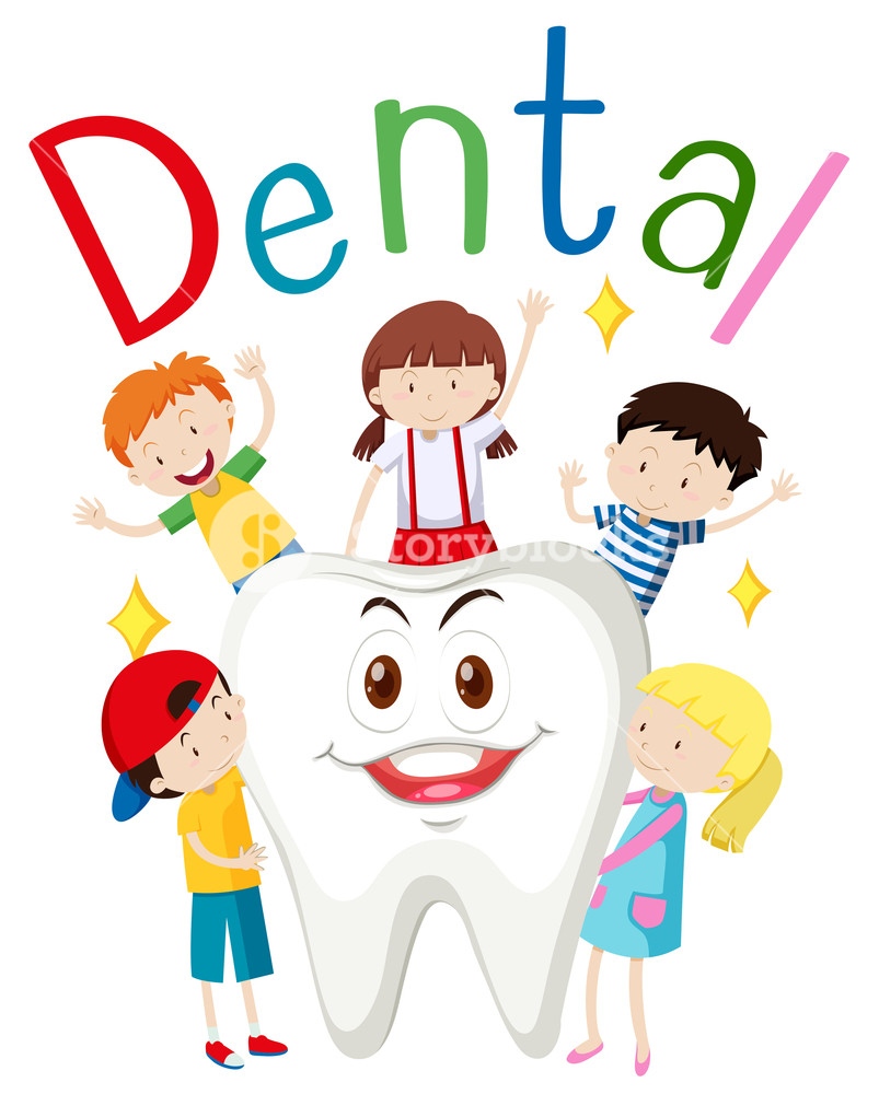 Children and happy tooth illustration Royalty-Free Stock Image ... png transparent