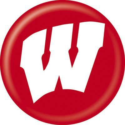 Wisconsin outdoors clipart picture black and white Wisconsin Badgers Logo Clip Art | Bucky | Wisconsin badgers ... picture black and white