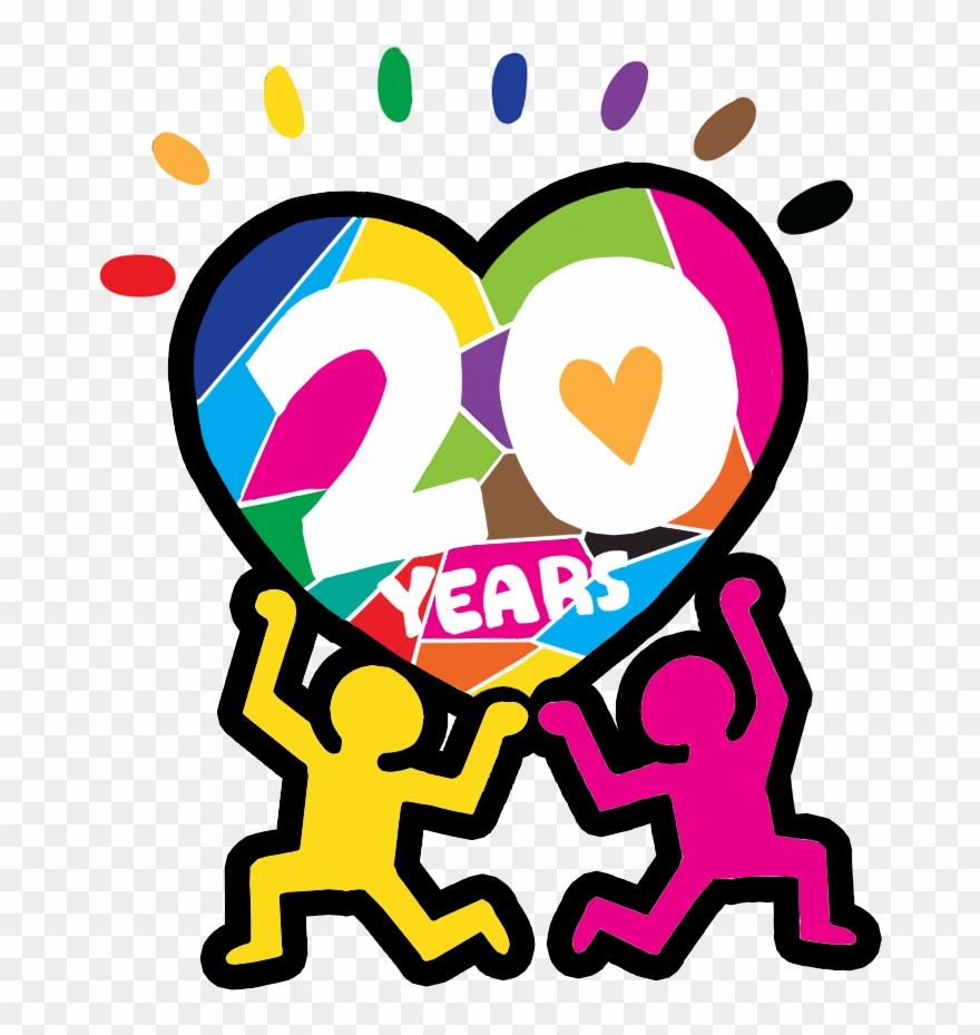 Join The Lgbt Resource Center As We Celebrate 20 Years Clipart ... svg free stock