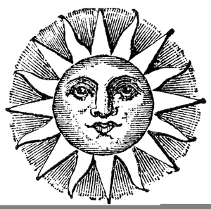 Celestial being clipart svg black and white stock Celestial Sun Clipart | Free Images at Clker.com - vector clip art ... svg black and white stock