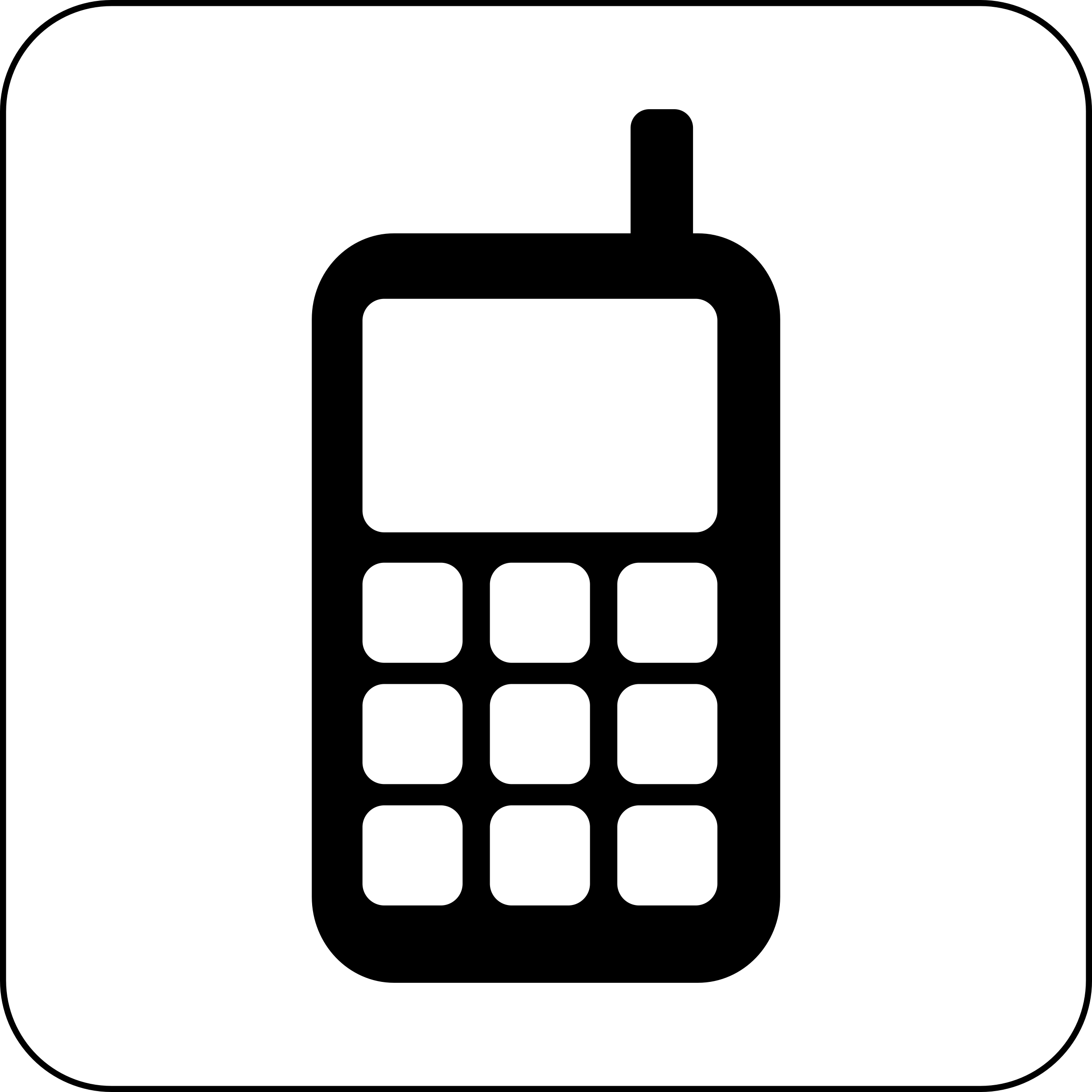 Free Phone Icon Cliparts, Download Free Clip Art, Free Clip Art on ... transparent stock