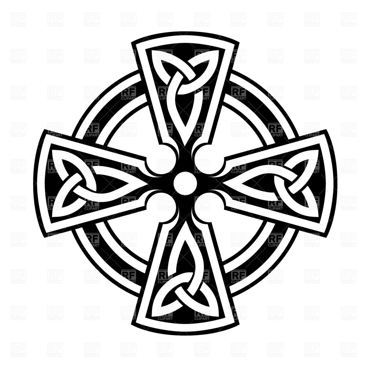 Celtic clipart free image Simple Celtic Cross Clip Art   Clipart Panda - Free Clipart Images image