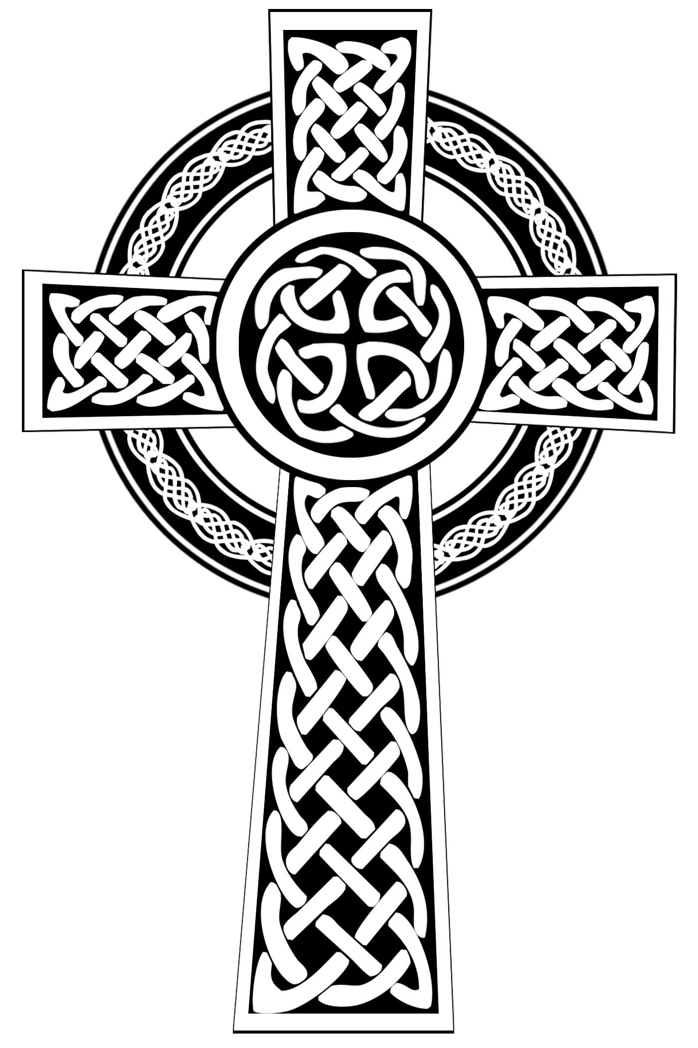 Celtic cross vector clipart vector library Free Celtic Cross Cliparts, Download Free Clip Art, Free Clip Art on ... vector library