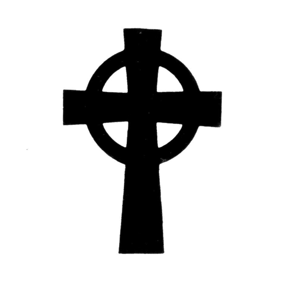 Cross in circle clipart black and white png free library The Celtic Cross Celtic Cross: The circle connecting the arms of ... png free library