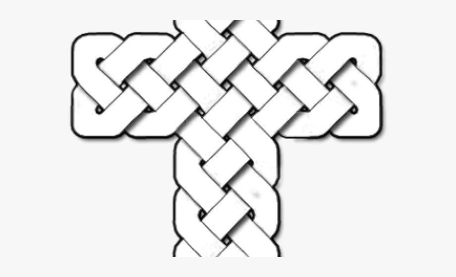 Celtic cross symbol clipart graphic black and white stock Celtic Cross Clipart - Celtic Cross #759560 - Free Cliparts on ... graphic black and white stock