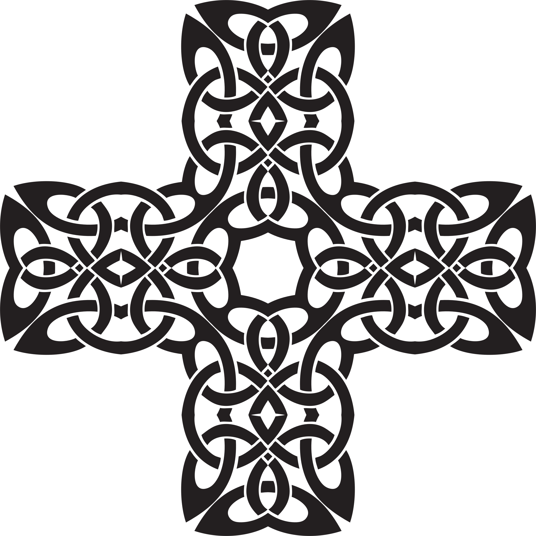 Simple celtic cross clipart clip art library stock Circle Celtic Knot transparent PNG - StickPNG clip art library stock