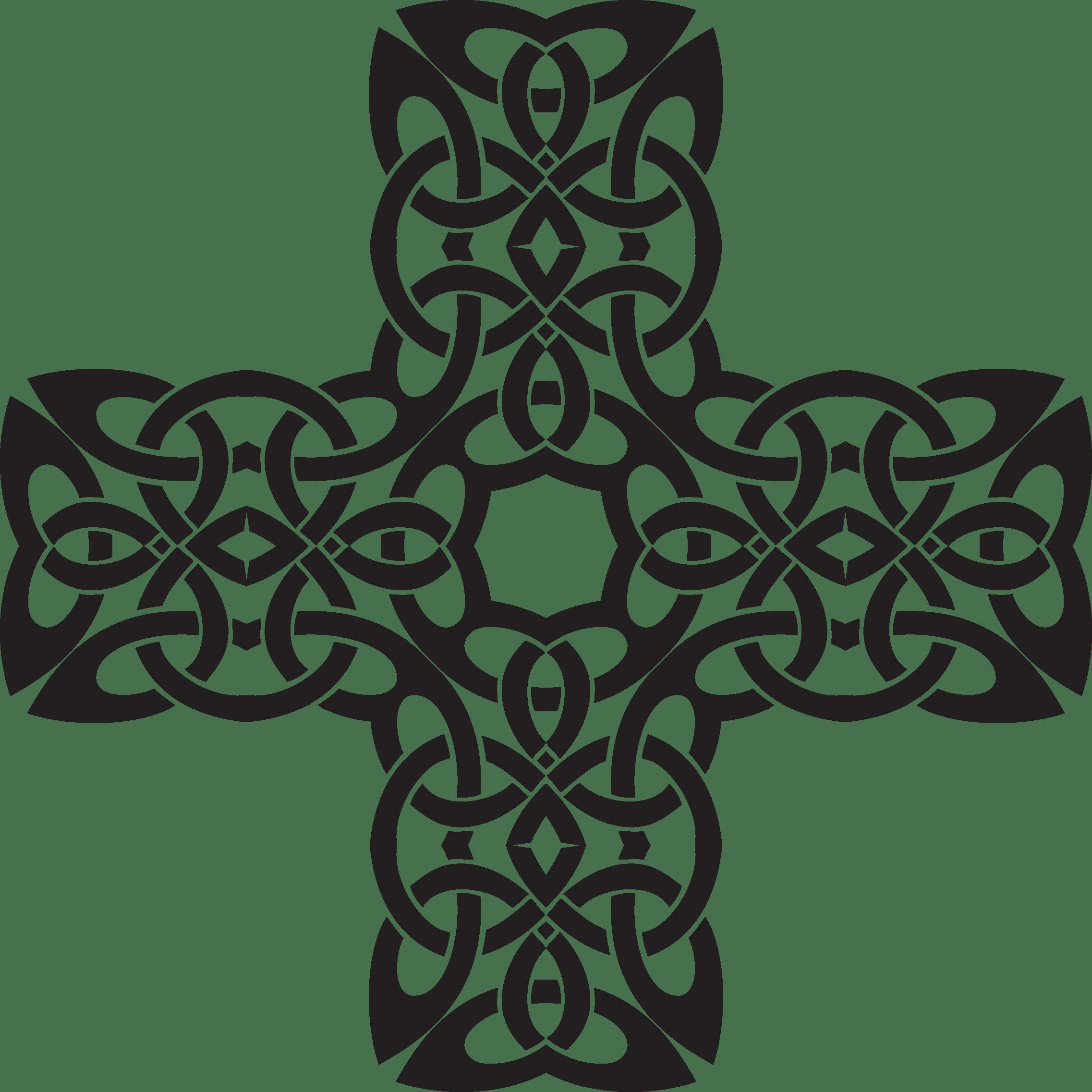 Celtic cross clipart clip transparent download Circle Celtic Knot transparent PNG - StickPNG clip transparent download