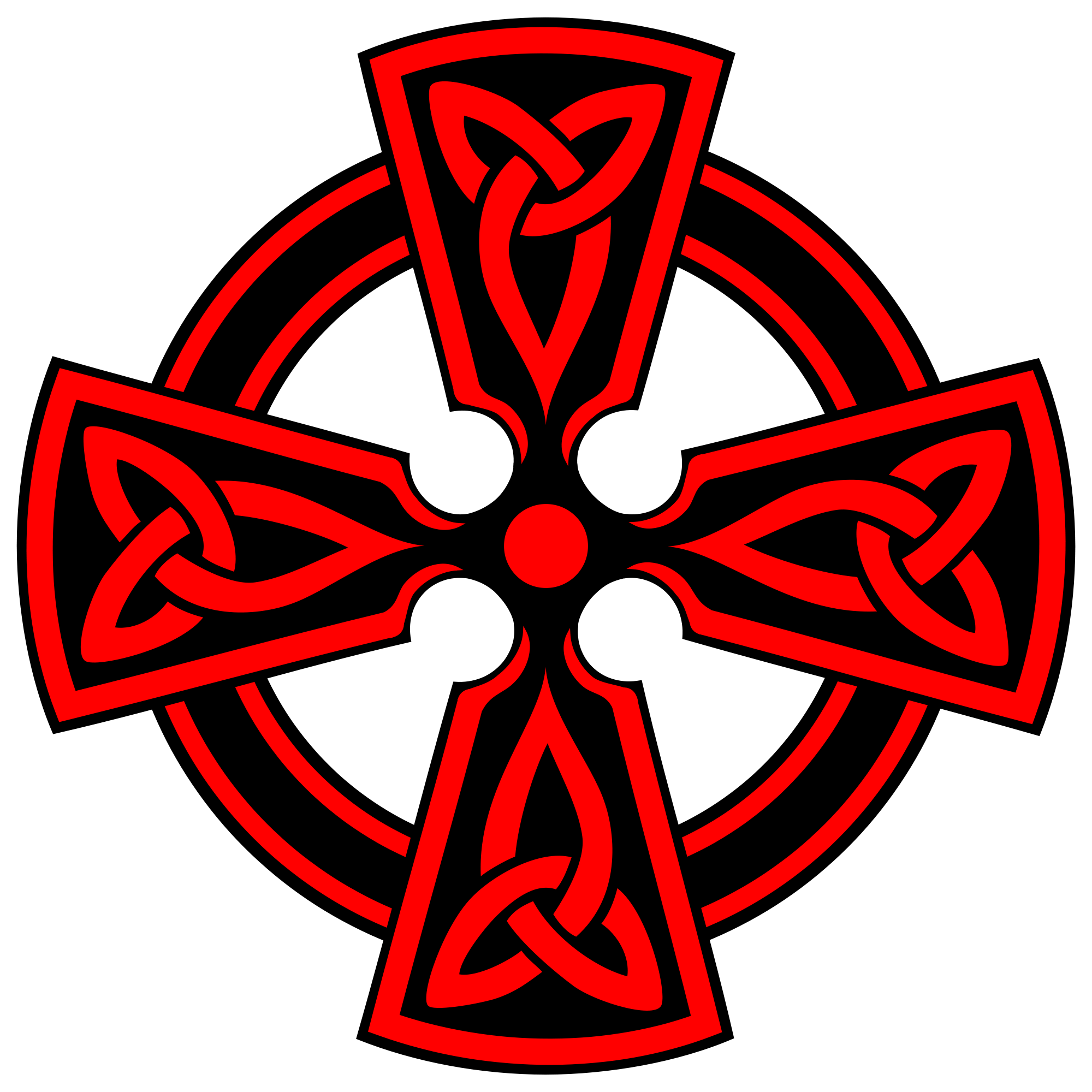 Trinity cross clipart black and white File:Celtic-Cross-Vodicka-decorative-triquetras-red.svg - Wikimedia ... black and white