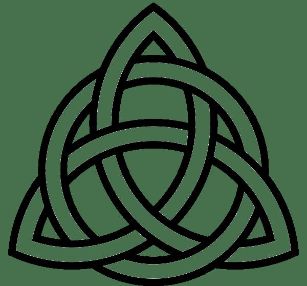 Celtic cross clipart black and white clip art stock Celtic Knot transparent PNG - StickPNG clip art stock