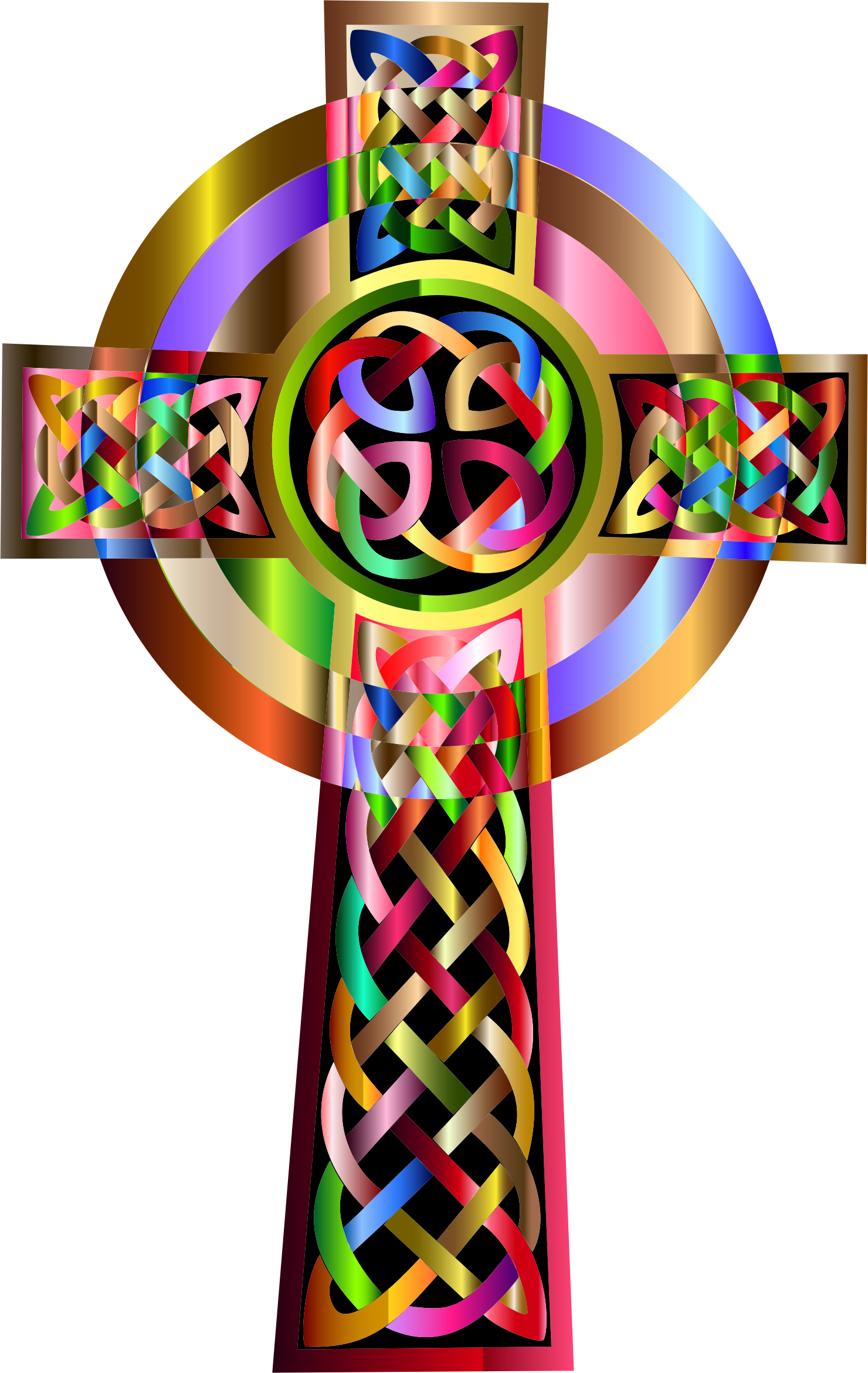 Free colorful cross clipart image royalty free library Vibrant Celtic Cross Icons PNG - Free PNG and Icons Downloads image royalty free library