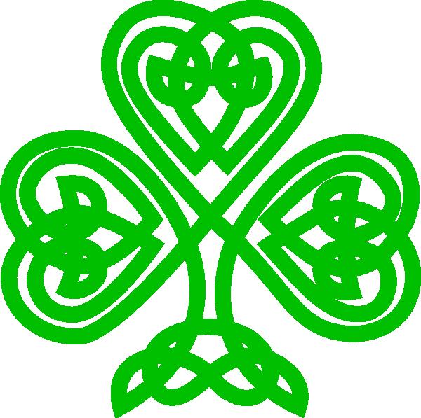 Irish cross clipart picture transparent library Celtic Shamrock Clip Art at Clker.com - vector clip art online ... picture transparent library
