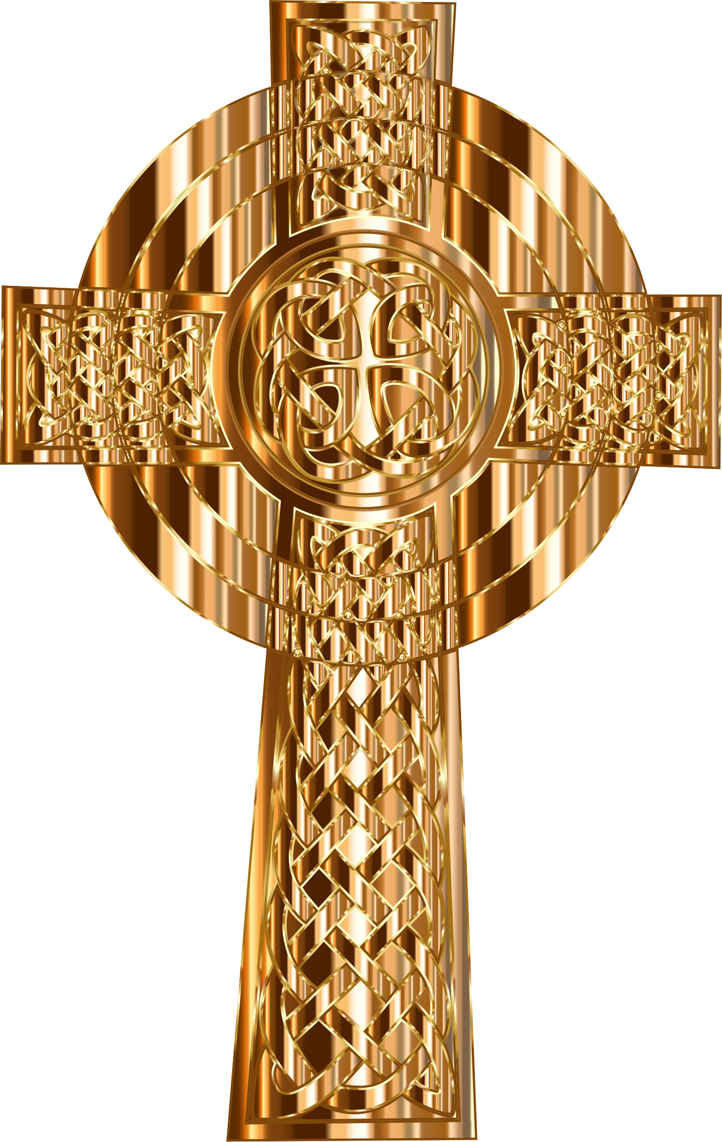 Celtic cross gold clipart jpg free download Clipart - Golden Celtic Cross jpg free download