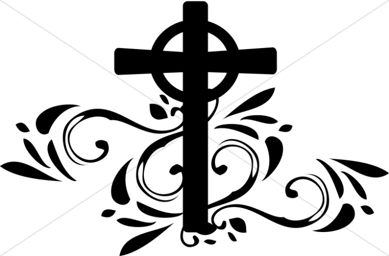 Swirls and christian cross clipart vector freeuse download Celtic Cross Clipart | Cross Clipart vector freeuse download