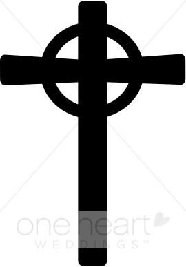 Celtic cross symbol clipart vector royalty free library Black Celtic Cross Symbol | Cross Wedding Clipart vector royalty free library