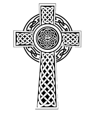 Celtic cross vector clipart banner freeuse download Celtic knot celtic cross clip art - ClipartBarn banner freeuse download