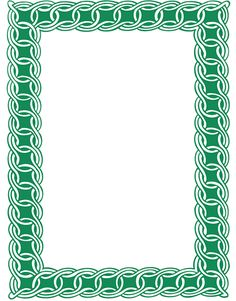 Celtic green border clipart printables free vector freeuse library Hebergeur d'image | rámčeky | Pinterest | Bamboo vector freeuse library