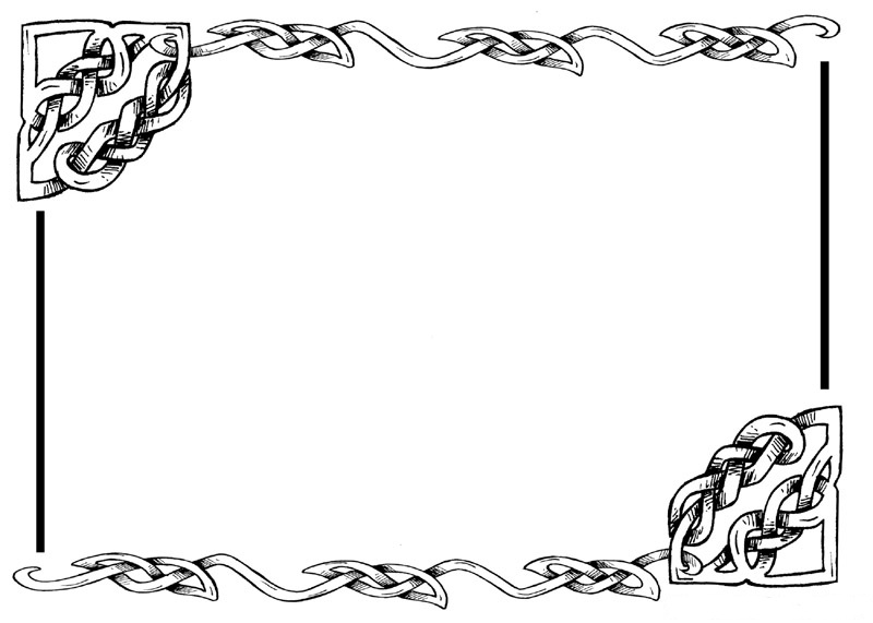 Celtic green border clipart printables free picture download Celtic border clipart free - ClipartFest picture download