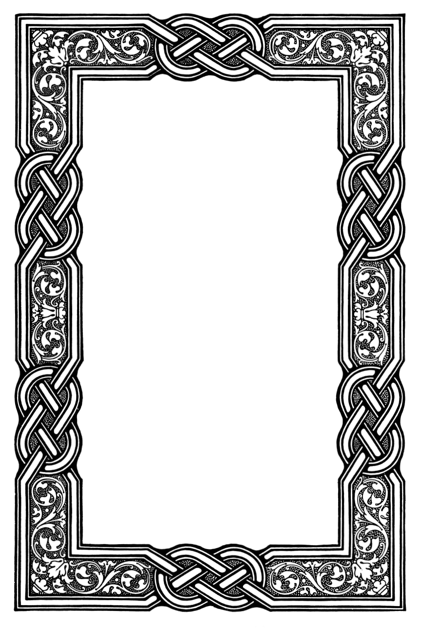 Celtic green border clipart printables free image Celtic border clipart free - ClipartFest image