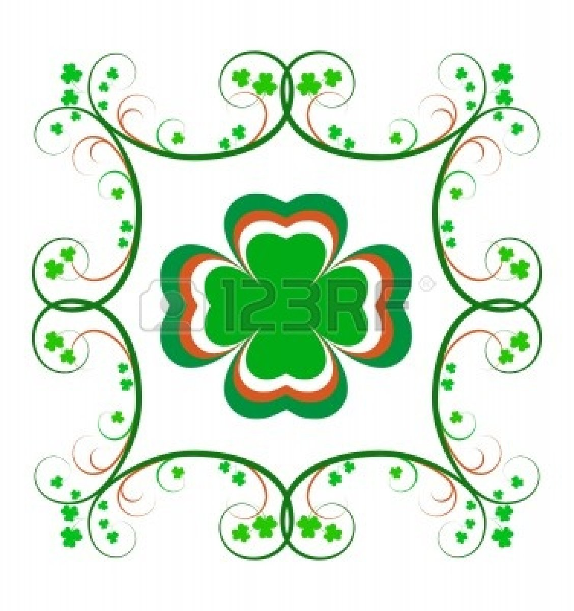 Celtic green border clipart printables free picture free stock Celtic green border clipart background - ClipartFest picture free stock