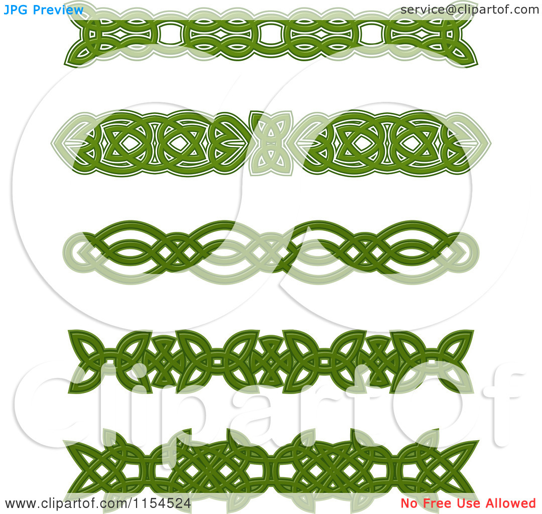 Clipartfest of knot . Celtic green border clipart printables free