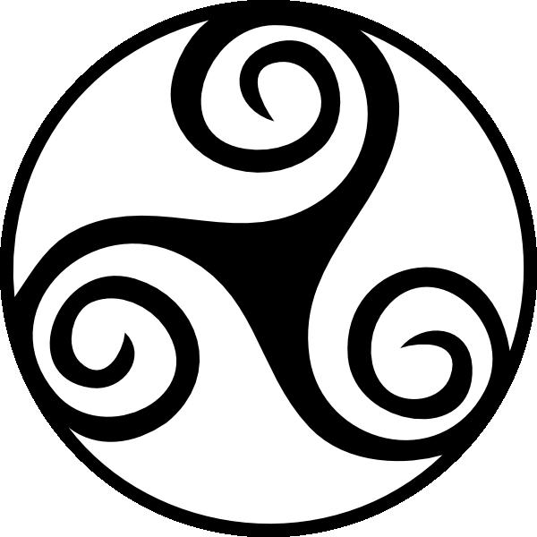 Celtic star clipart clip black and white Free Printable Celtic Stencil Patterns | Celtic Triskell clip art ... clip black and white