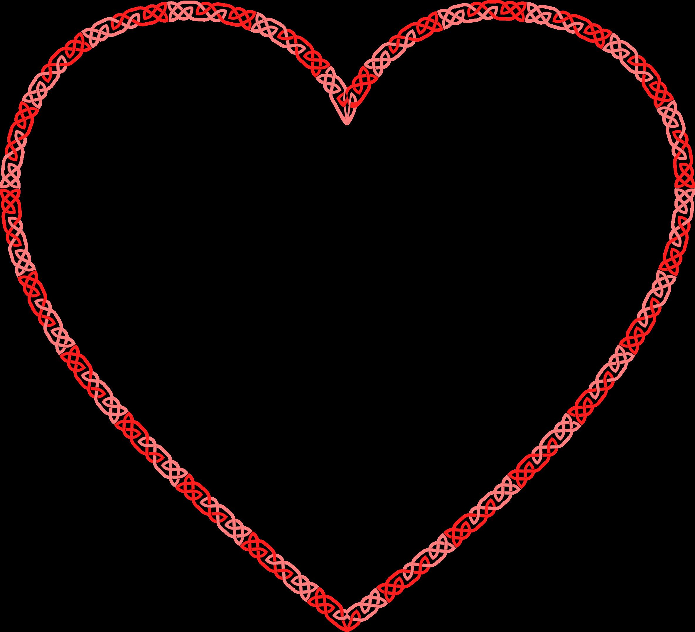 Celtic heart clipart picture transparent library Clipart - Celtic Knot Heart picture transparent library