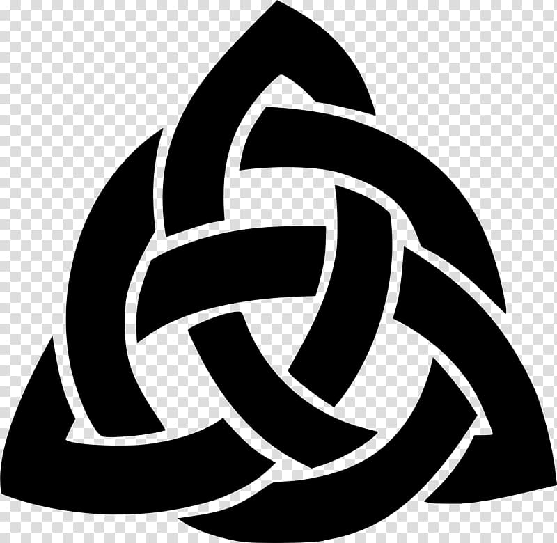Celtic heart triquetra clipart svg black and white library Celtic knot Triquetra Trinity Celts, knot transparent background PNG ... svg black and white library