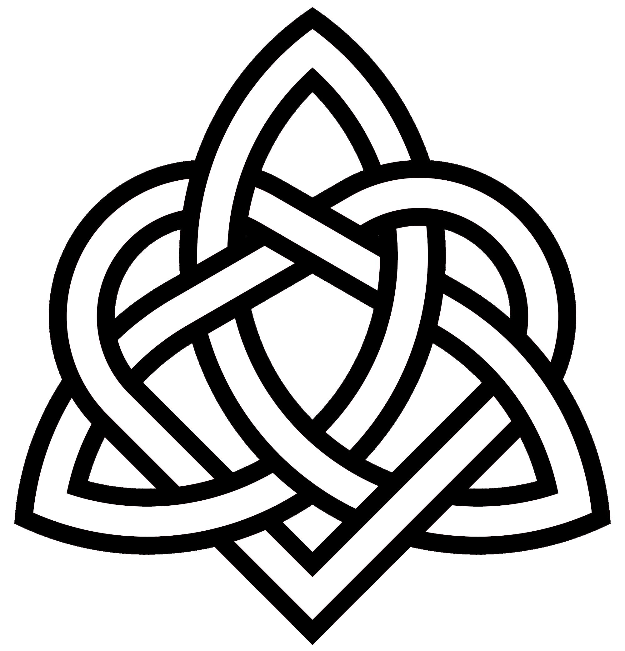 triquetra - heart variant | ~ { PICTA CUTIS } ~ | Sister symbol ... clip art library download