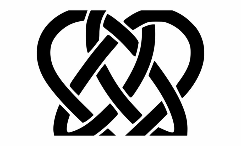 Celtic Knot Clipart Svg - Celtic Heart Knot Free PNG Images ... jpg transparent