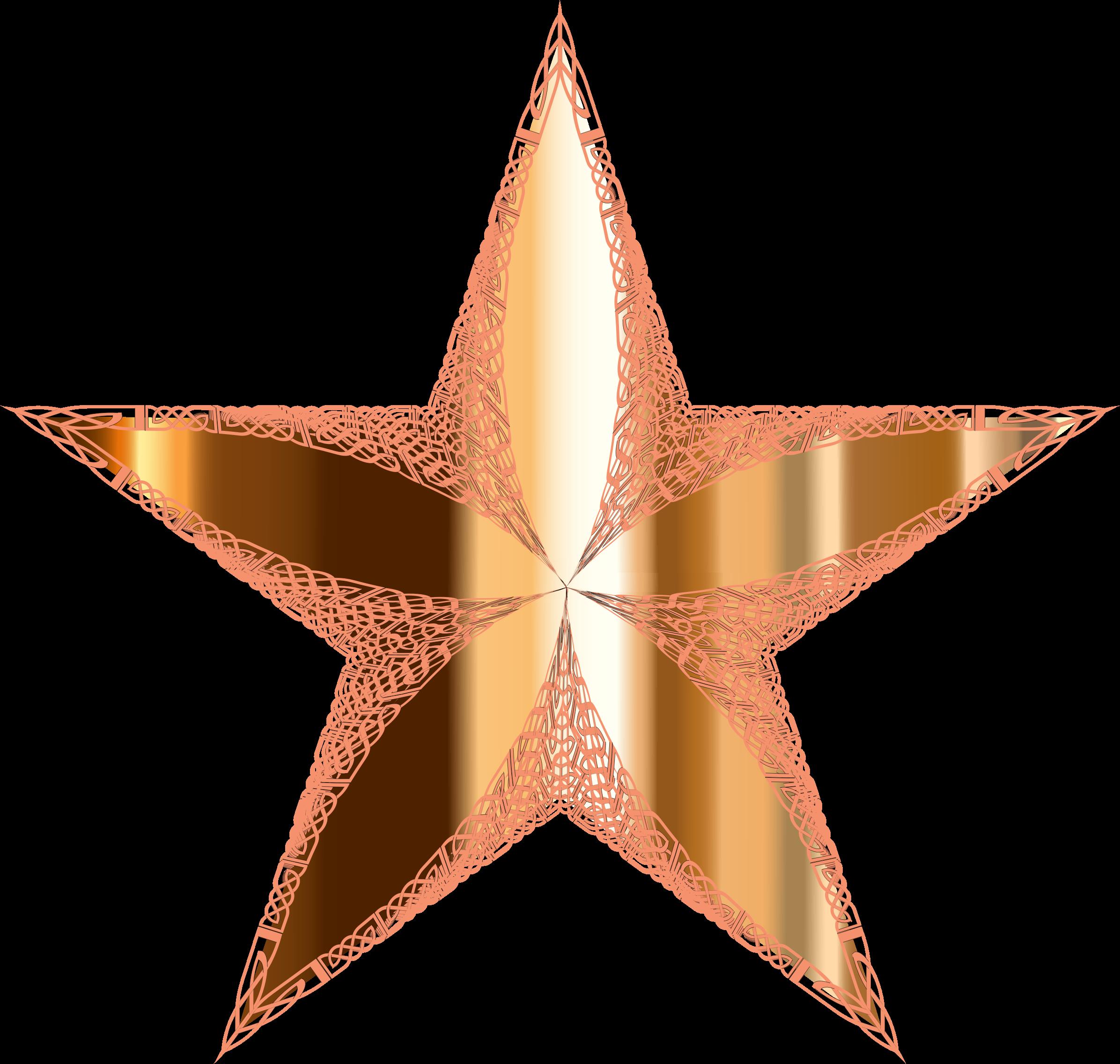 Celtic star clipart picture stock Clipart - Ornamental Metallic Star picture stock