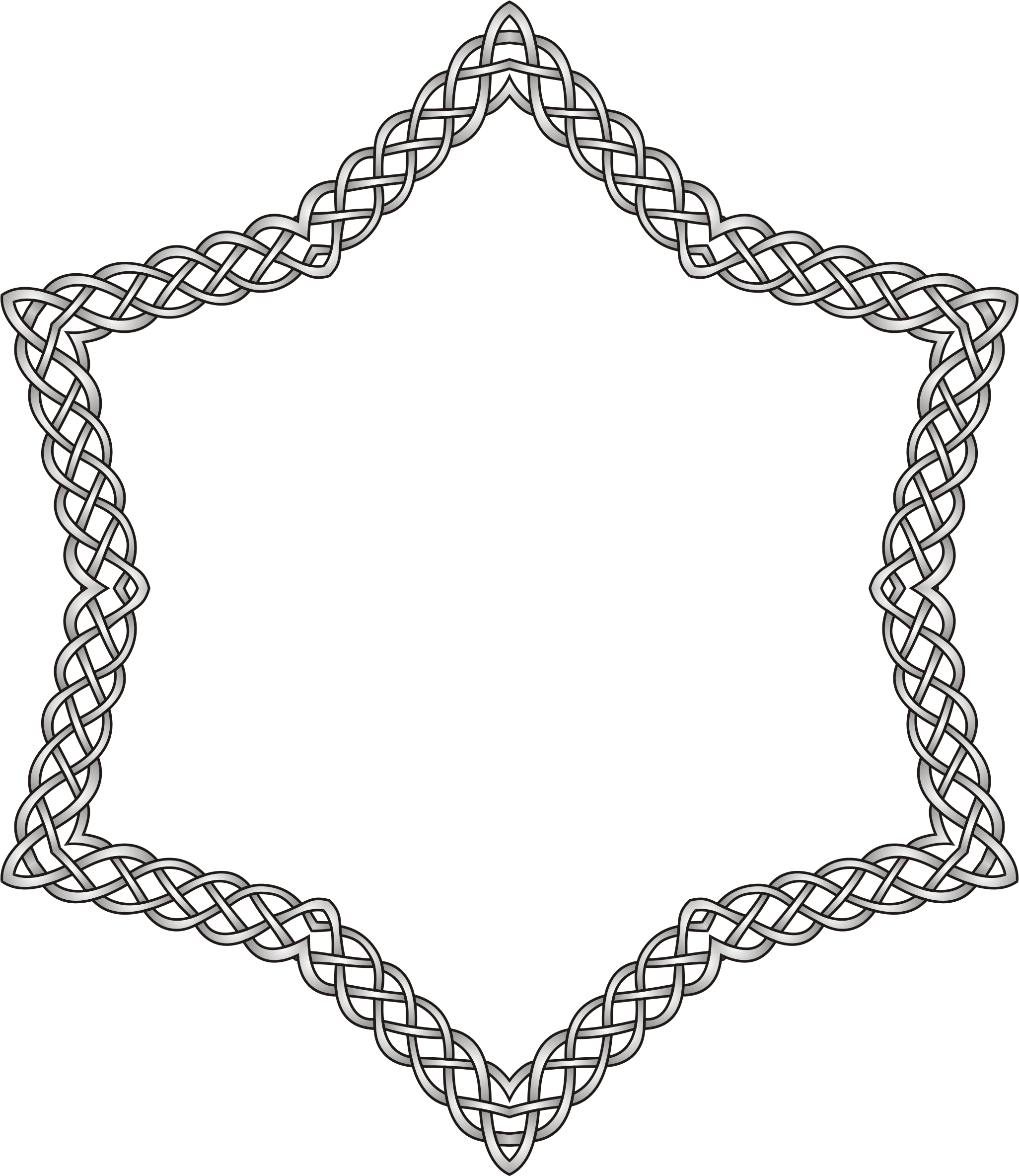 Celtic star clipart banner royalty free stock Clipart - Celtic star banner royalty free stock
