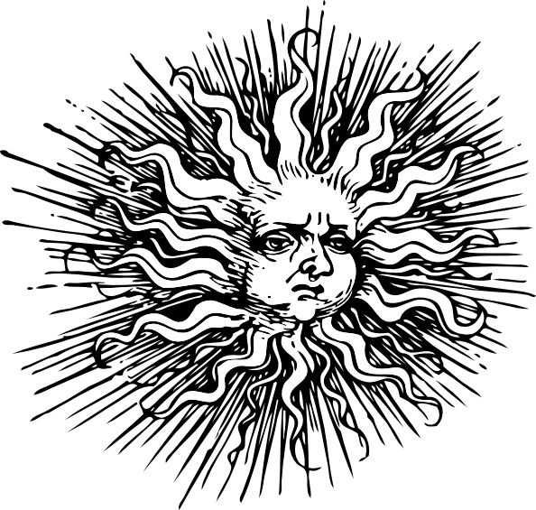 Dark sun clipart clip art download Ornate Sun Clip Art at Clker.com - vector clip art online, royalty ... clip art download