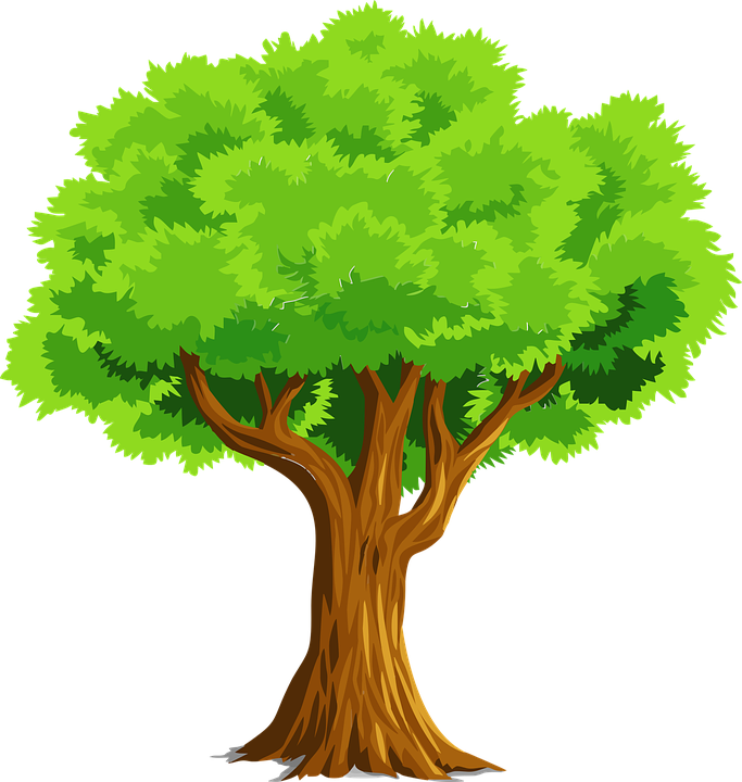 Celtic tree clipart picture black and white download Tree Clipart Clipart fruitful tree - Free Clipart on Dumielauxepices.net picture black and white download