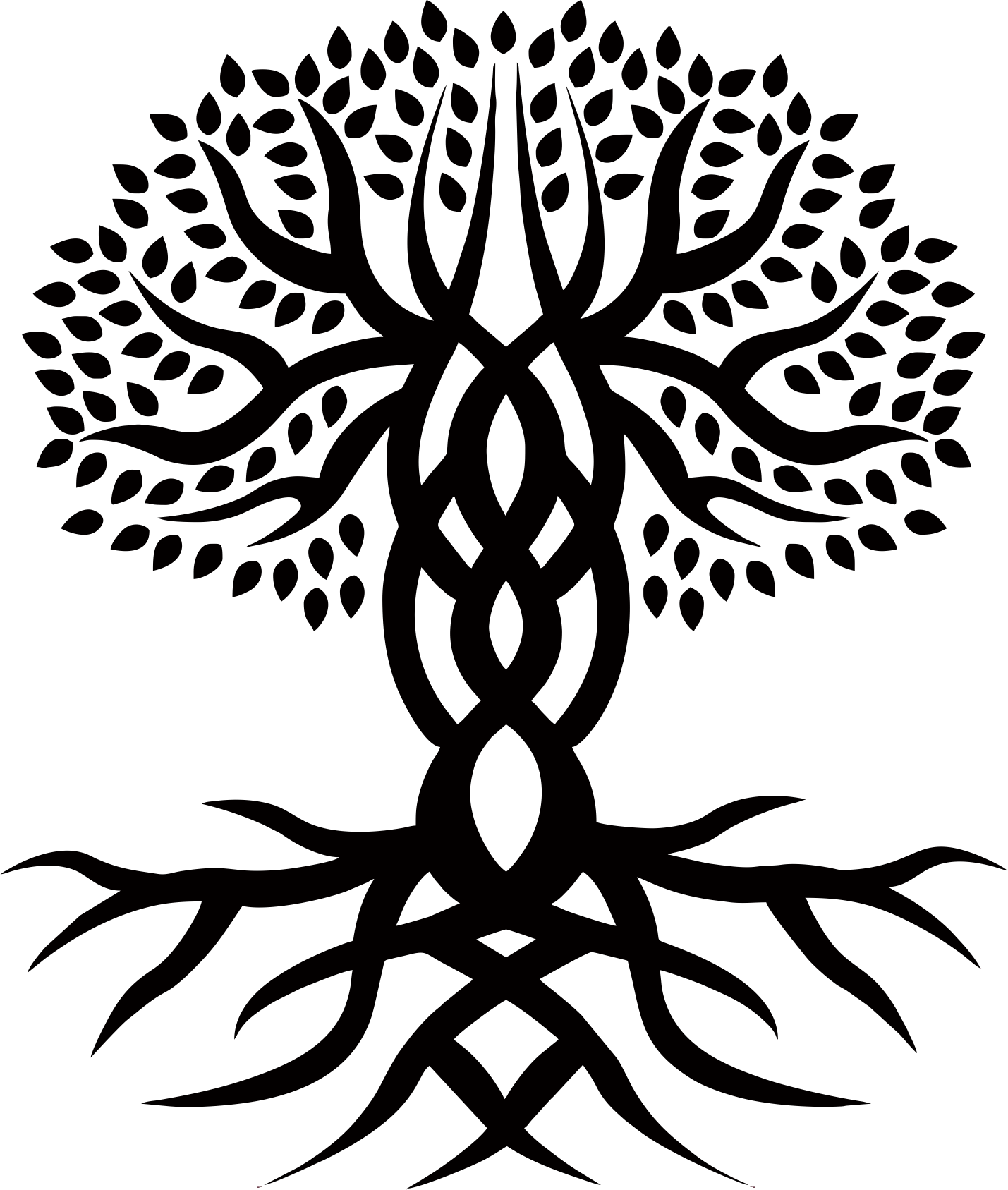 Celtic tree clipart banner download Celtic Tree Of Life Drawing at GetDrawings.com | Free for personal ... banner download