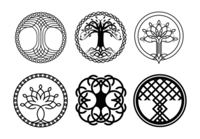 Celtic tree clipart vector clip freeuse stock Celtic Tree Free Vector Art - (20,905 Free Downloads) clip freeuse stock