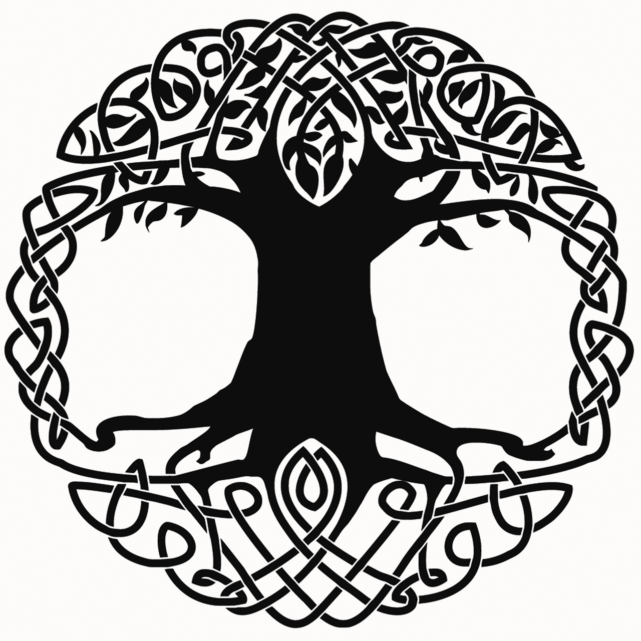 Celtic tree clipart vector svg black and white Tree Of Life Images Free | Free download best Tree Of Life Images ... svg black and white